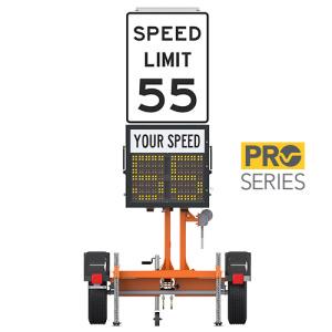 Speed Radar Trailer Mount